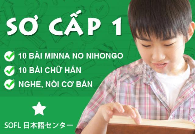 Tiếng Nhật sơ cấp 1
