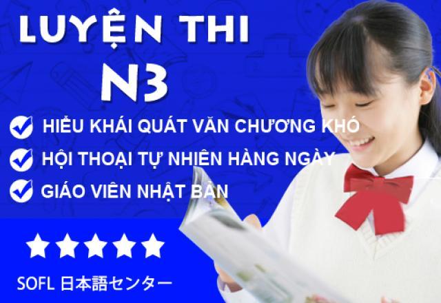 Lớp luyện thi N3 tại Hà Nội