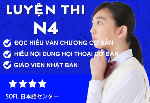 Lớp uyện thi N4 tại Hà Nội