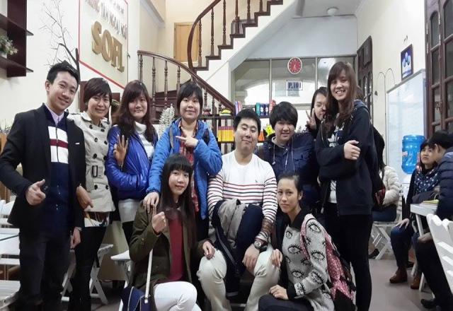 Trung tâm tiếng Nhật SOFL tại cơ sở Phố Vọng