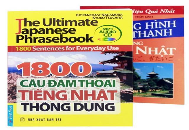 Tự học tiếng Nhật giao tiếp với 1800 câu đàm thoại