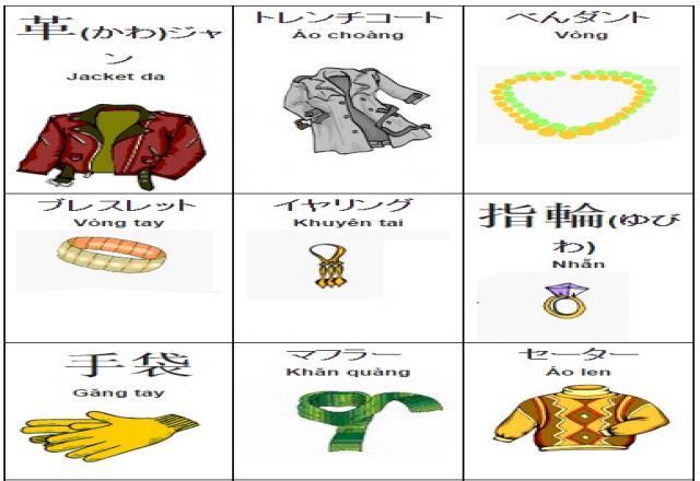 Những lợi ích Học từ vựng tiếng Nhật bằng hình ảnh và lưu ý cách học