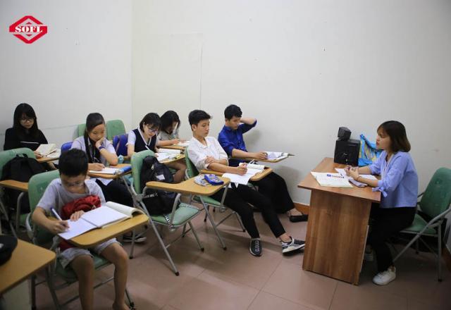 Các khóa học tiếng Nhật sơ cấp của Trung tâm tiếng Nhật SOFL