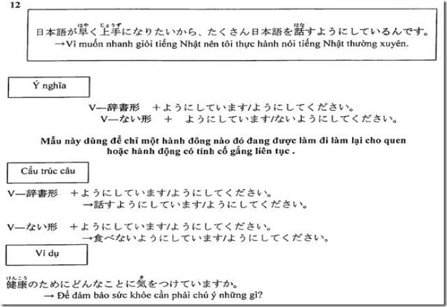 Rèn luyện tiếng Nhật với bài tập tiếng Nhật sơ cấp về từ vựng