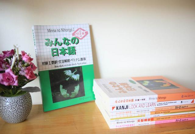Bộ giáo trình học tiếng Nhật sơ cấp được giảng dạy tại SOFL