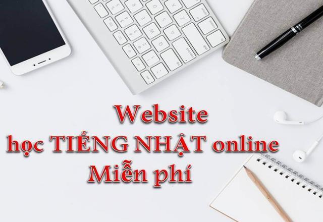 Điểm danh một số web học tiếng nhật trực tuyến online hiệu quả hiện nay