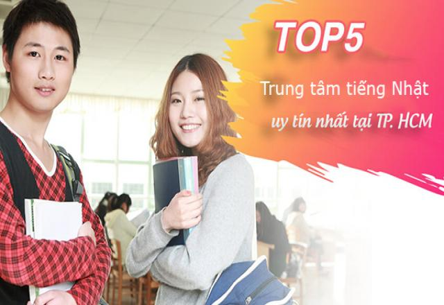 TOP 5 trung tâm tiếng Nhật uy tín ở TPHCM có chất lượng đào tạo tốt nhất