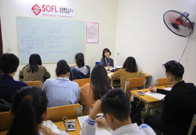 Khóa học tiếng Nhật căn bản cho người chưa biết gì tại SOFL