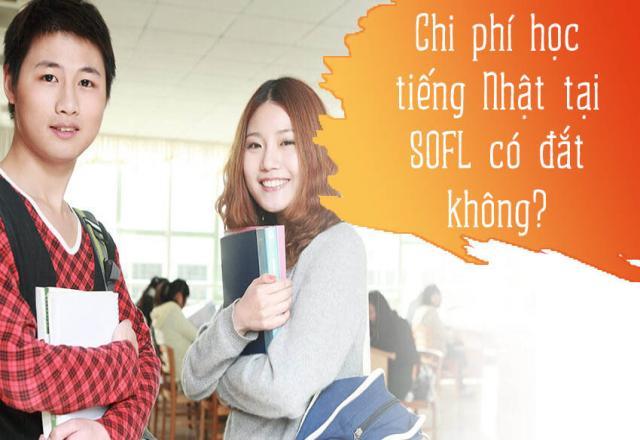 Chi phí học tiếng Nhật tại SOFL có đắt không?
