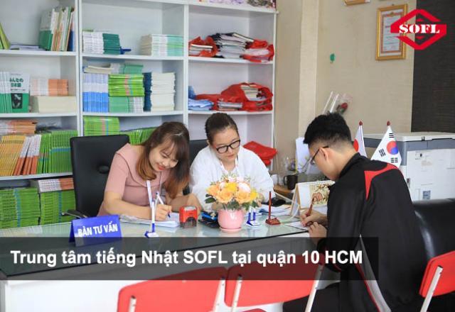 Trung tâm tiếng Nhật SOFL uy tín tại quận 10 HCM