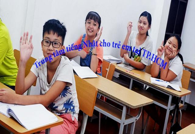 Trung tâm tiếng Nhật cho trẻ em tại TP.HCM