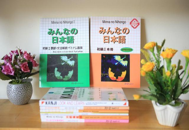Tự học tiếng nhật sơ cấp với giáo trình Minna no Nihogno