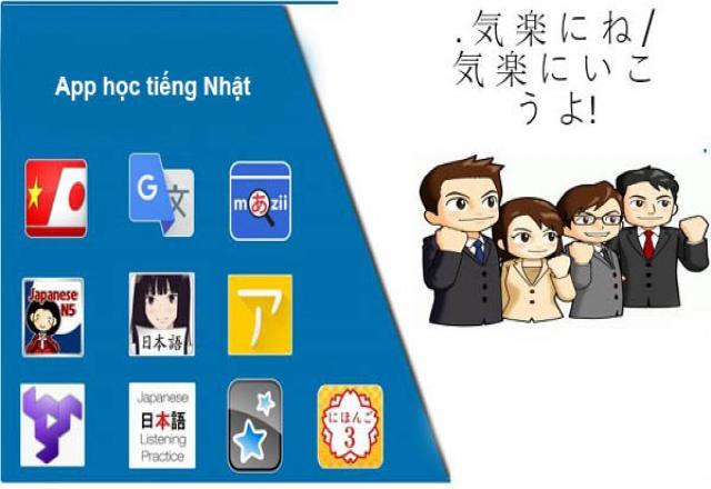 App học tiếng Nhật cho người mới bắt đầu
