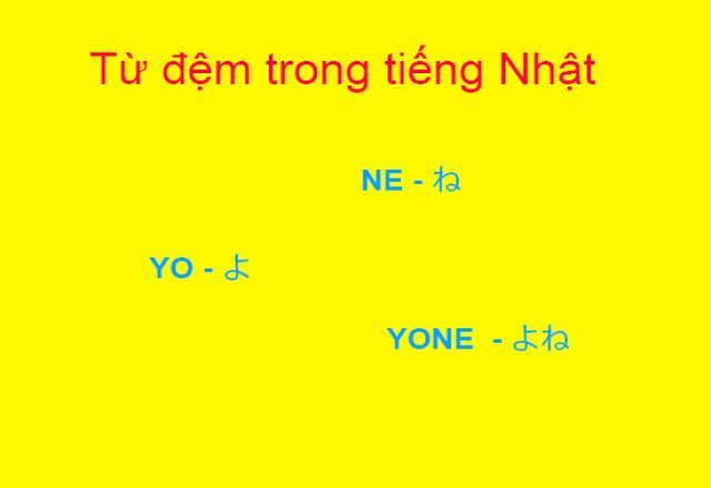 Cải thiện kỹ năng giao tiếp tiếng Nhật với từ đệm cuối câu Ne và Yo