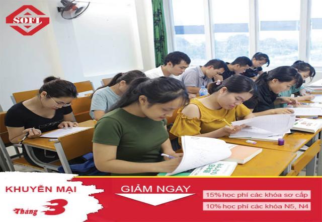 Tháng vàng học tiếng Nhật - Cùng SOFL sẵn sàng cho khởi đầu mới