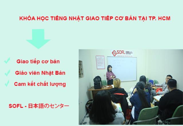 Khóa học tiếng Nhật giao tiếp cơ bản tại TP. HCM