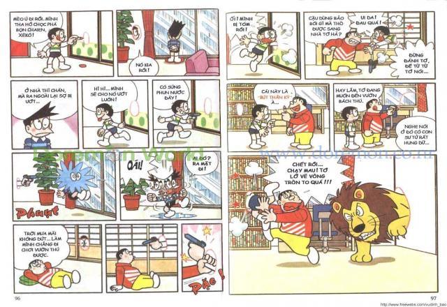 Tìm lại tuổi thơ với cách học tiếng Nhật qua truyện tranh doremon