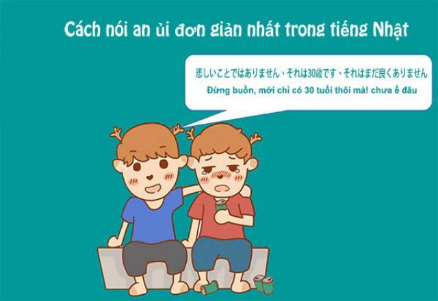 20 cách nói an ủi đơn giản nhất trong tiếng Nhật
