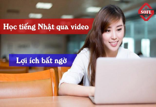 Học tiếng Nhật qua video - Lợi ích bạn không thể ngờ đến