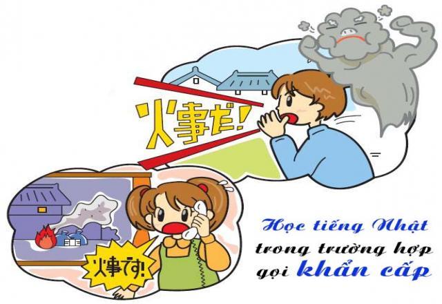 Các mẫu câu giao tiếp tiếng Nhật cơ bản trong trường hợp khẩn cấp