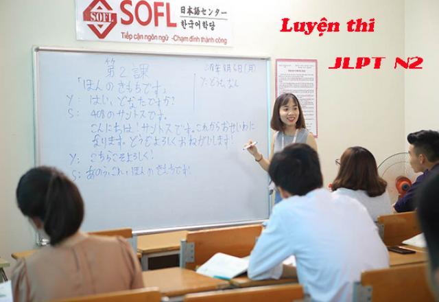 Khóa luyện thi tiếng Nhật N2