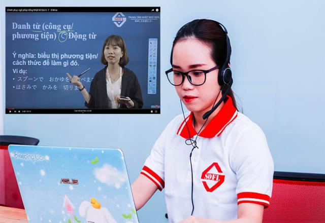 Học tiếng Nhật Online tại SOFL - Cam kết chất lượng đầu ra