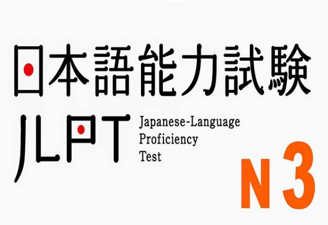 Đề luyện thi tiếng Nhật N3 phần ngữ pháp